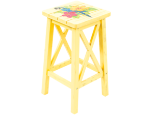 Margaritaville Outdoor Wood Bar Stool