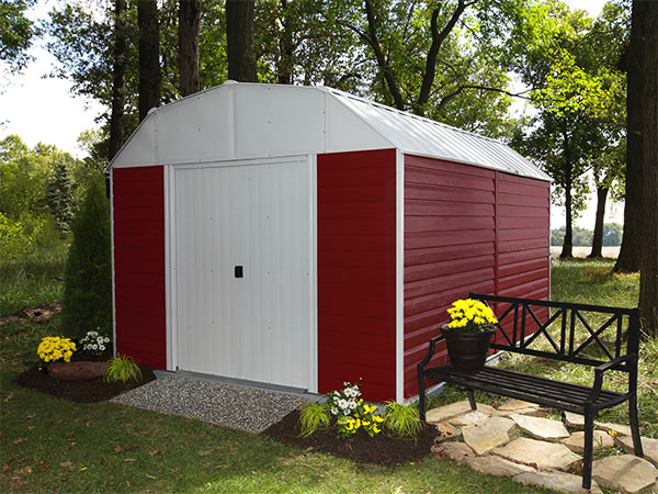Red Barn Steel Shed