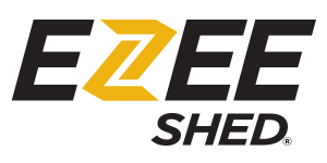 EZEE Shed quick assembly steel shed
