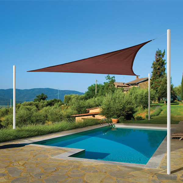 How-To Install Shade Sails from ShelterLogic for Your Pool or Patio & How-To Install Shade Sails for Your Pool or Patio