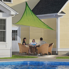 Shade Sails Are Versatile Patio Covers That Offer Shade And UV Protection  From The Sun. Made From Knitted Polyethylene Fabric, They Are A Great For  Anyone ...