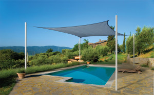 ... Of Different Sizes, Shapes And Colors And Can Be Attached To Walls,  Poles And Even Trees. They Are Easy To Install And They Make Perfect Patio  Covers.