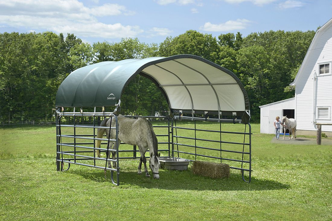 Corral Shelter - Galvanized
