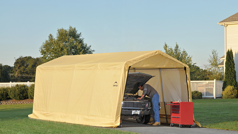 How To Maintain Tarp Buildings Shelterlogic Corp
