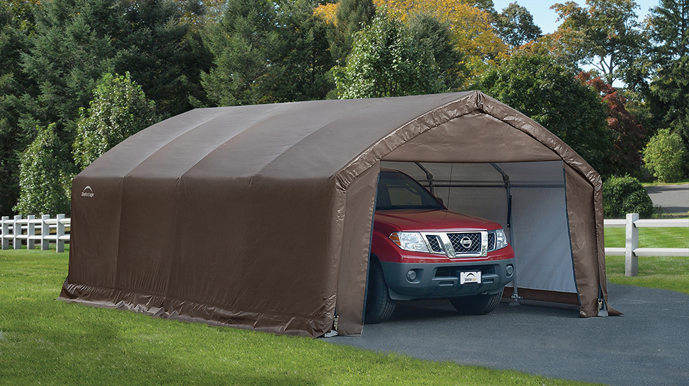 Portable Garages For Sale >> 4 Reasons To Buy A Portable Garage Shelterlogic Corp