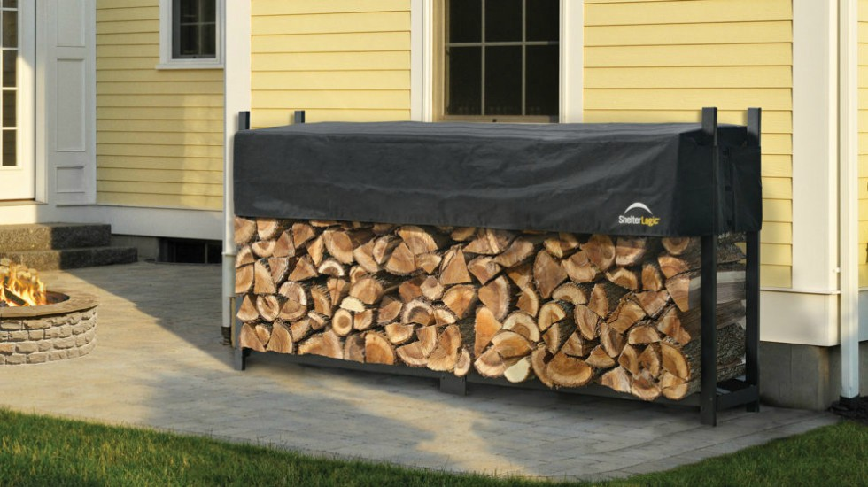 New Year's Resolution firewood storage