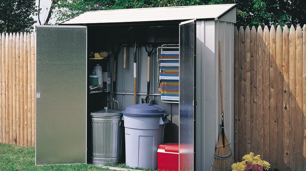 5 Compact Storage Sheds For Limited E