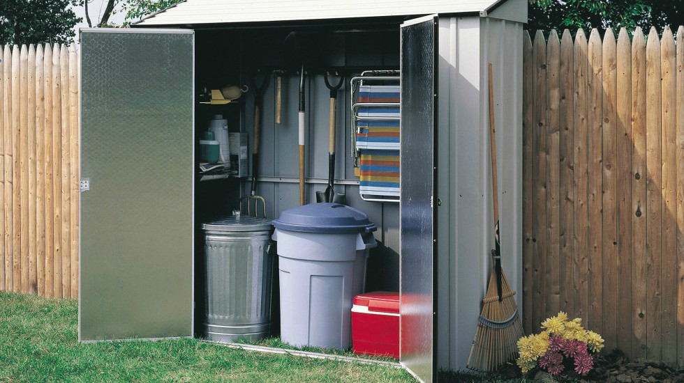 New Year's Resolution storage shed