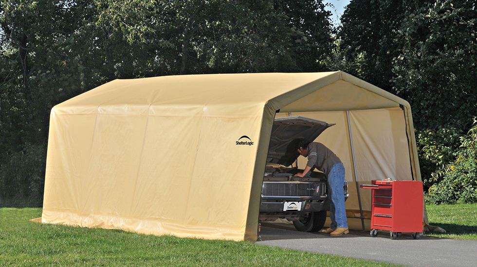 4 types of car shelters for summer vehicle protection