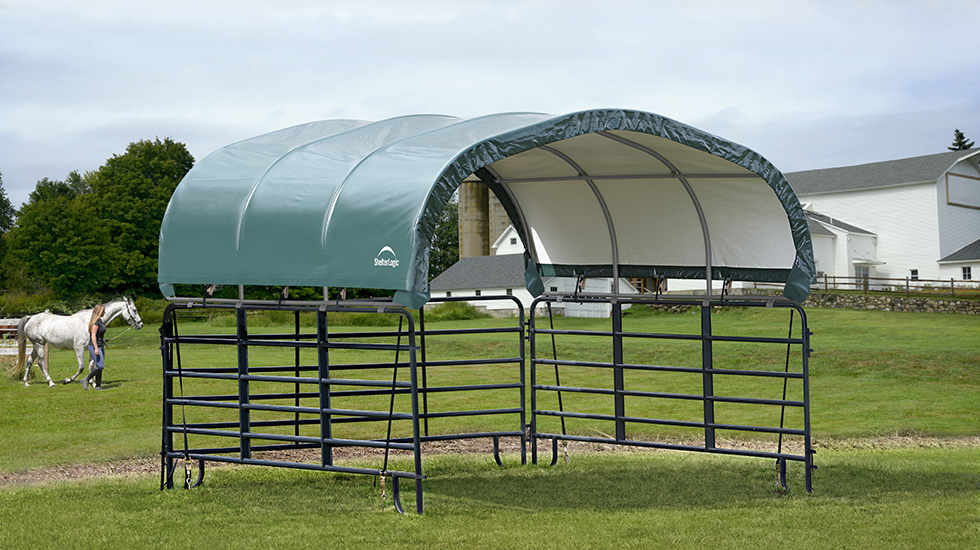 Shade, Storage, and More Solutions for Livestock Farms