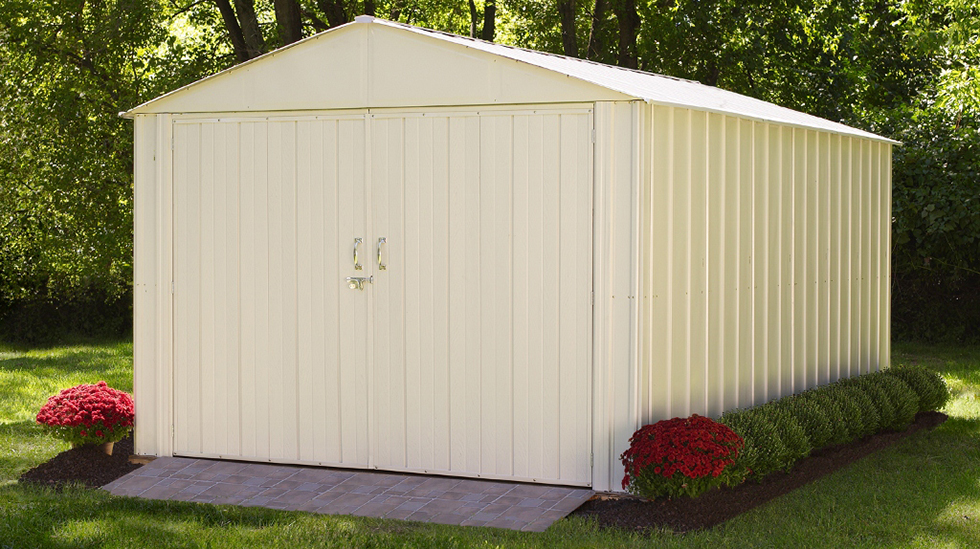 Insulated Sheds: How to Insulate a Metal Shed - ShelterLogic