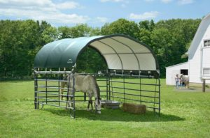 corral shelter for horses and hay holiday gift guide