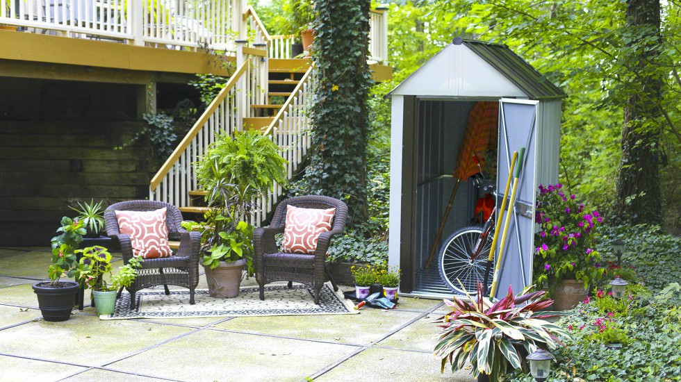 New Year's Resolution Garden Shed