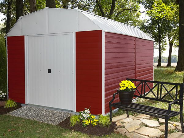 Arrow Red Barn metal shed