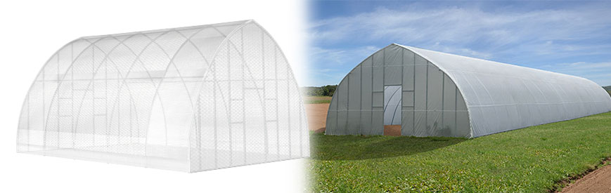 High Tunnel Greenhouse Header