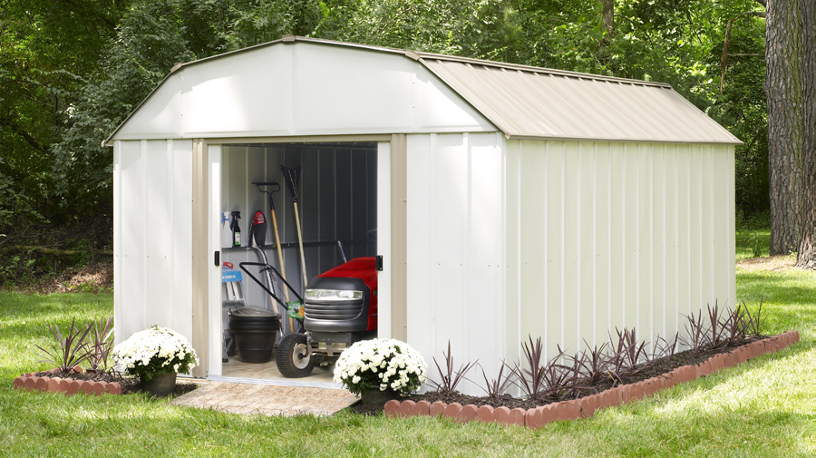 Backyard Solutions 4 backyard solutions for an organized outdoor space - shelterlogic corp.