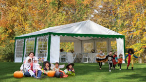 party tent halloween party ideas