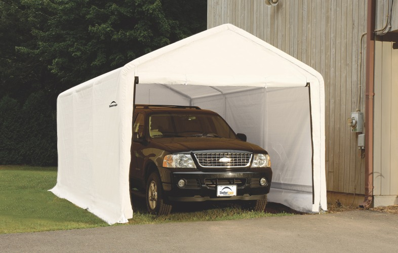 Does Your ShelterLogic Garage Need a Cover Upgrade? & Need An Upgrade? Replace Your ShelterLogic Garage Cover