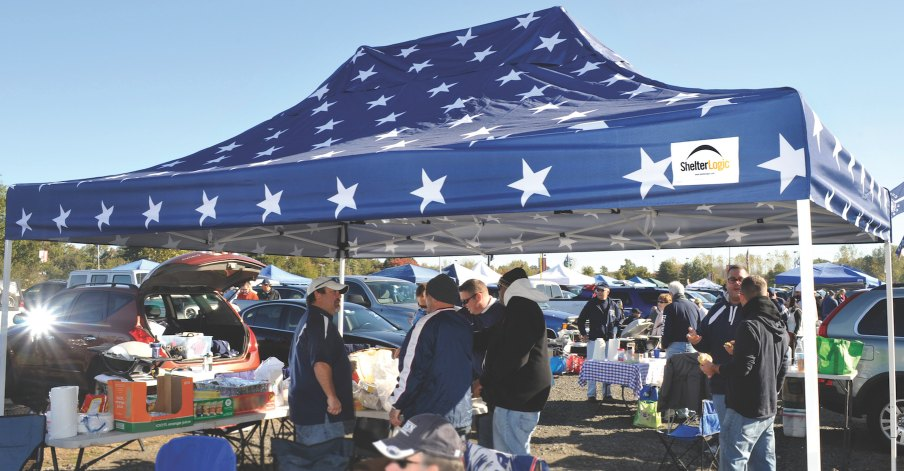 tailgate tent