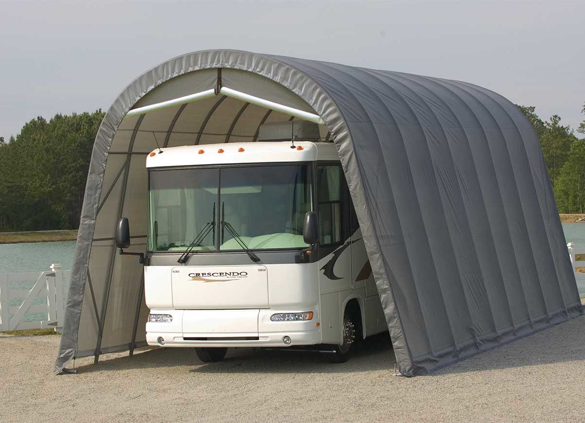RV Storage, Custom ShelterCoat, custom garage