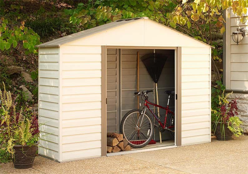 backyard sheds, backyard organization