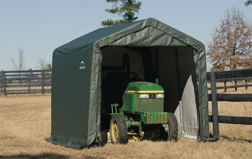 Charmant How To Use Portable Outdoor Sheds And Tarp Buildings