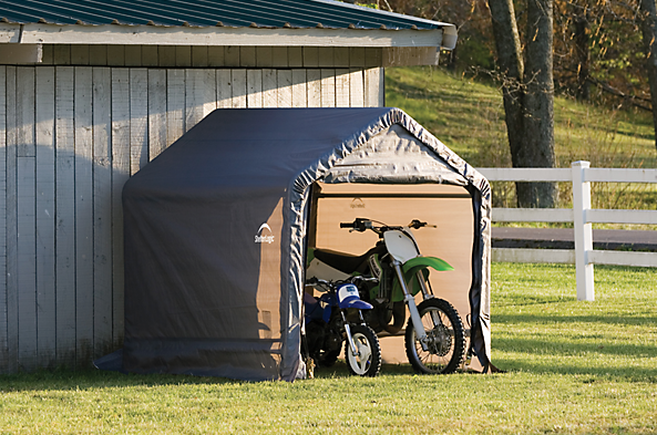 portable outdoor sheds, tarp buildings, fabric sheds, shed-in-a-box 6 x 6 ft., 6 x 6 ft. shed