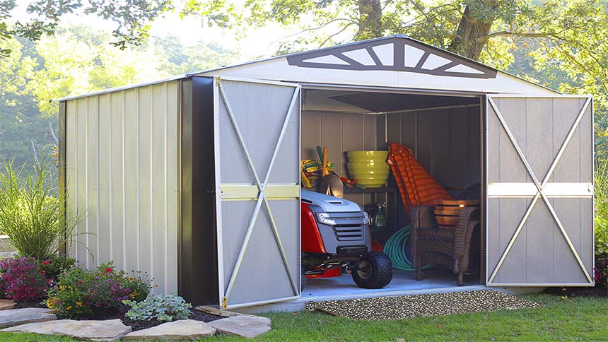 4 Garden Shed Organization Tips