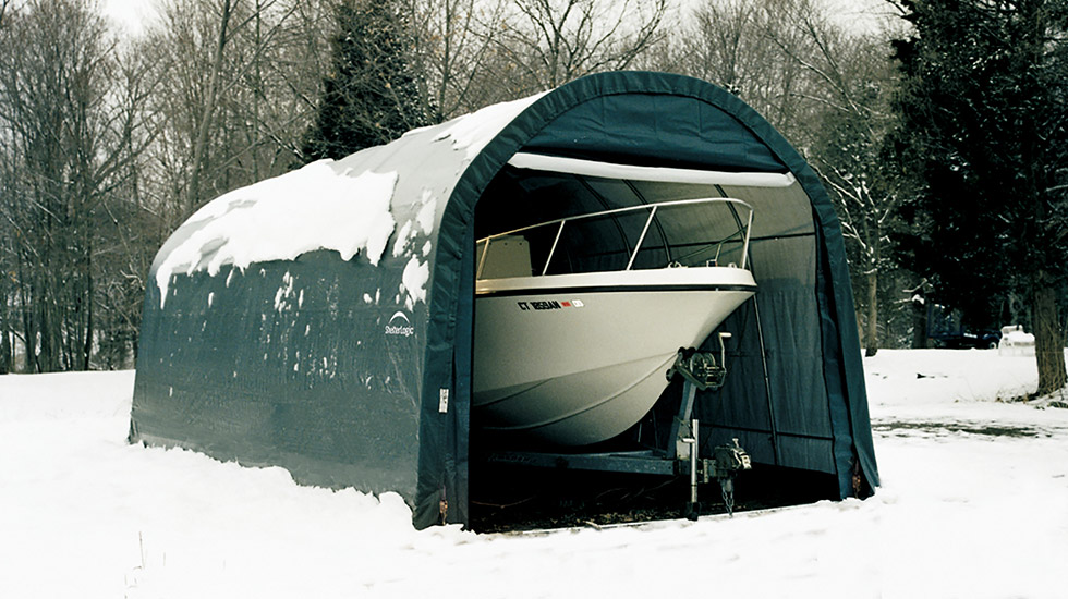 ShelterTech Boat Storage DIY Backyard Projects