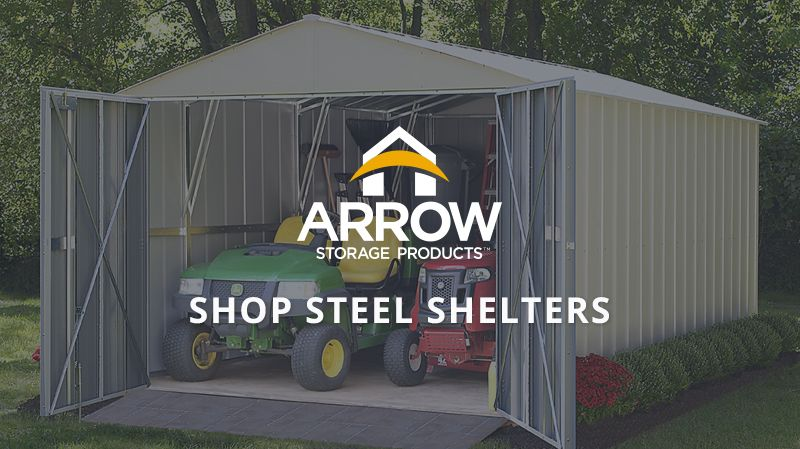 Shop Steel Shelters & ShelterLogic Corp. | Shade Shelter and Storage