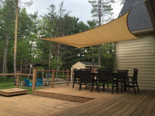 & How-To Install Shade Sails for Your Pool or Patio