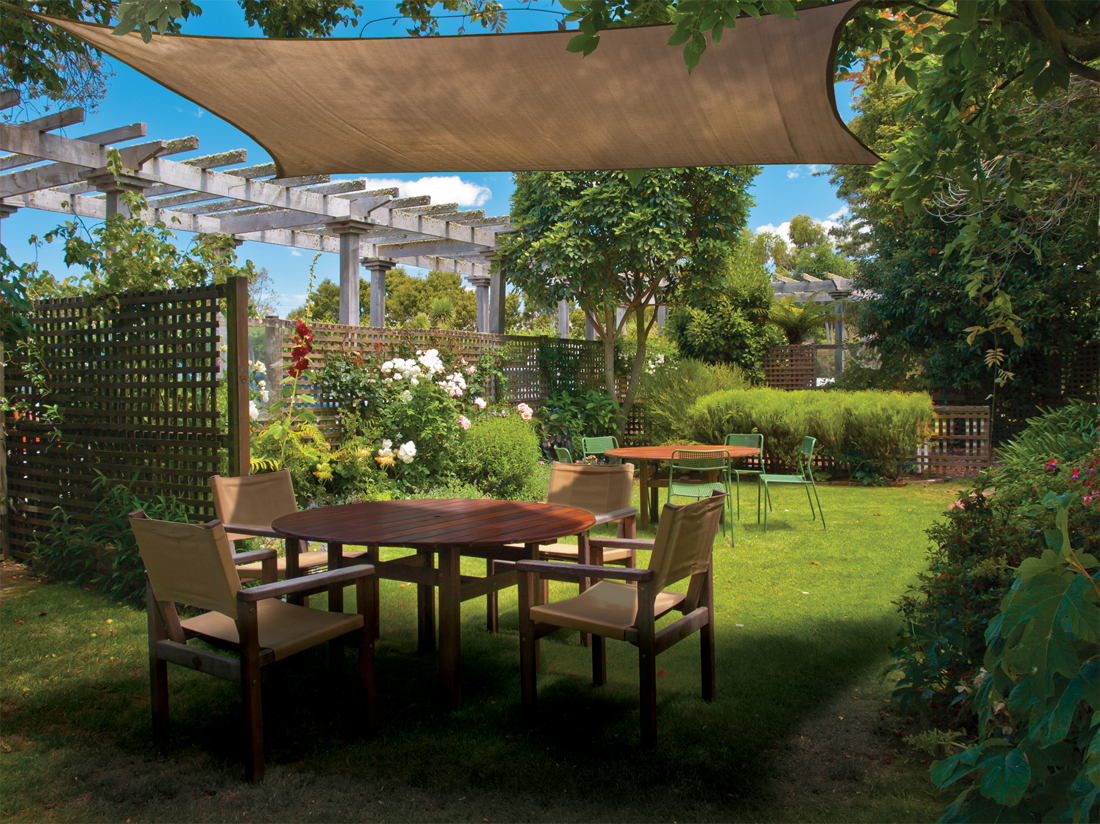 What Are Shade Sails And Cloth Learn About These Creative Patio Covers