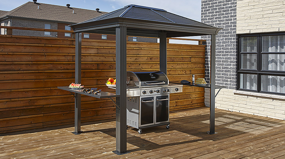 black friday buying guide, sojag, gazebo, grill gazebo
